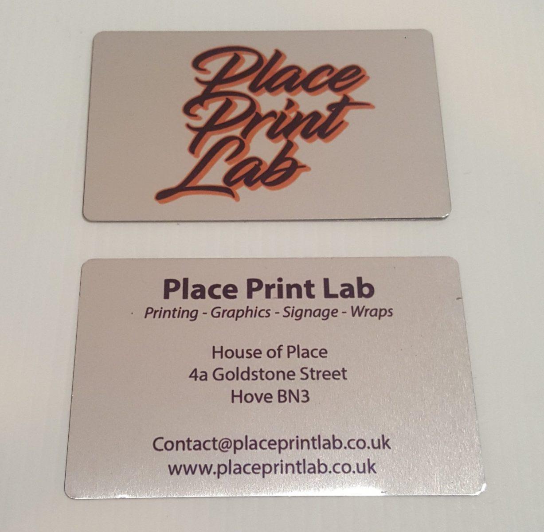 Place Print Lab - Aluminium Business Card