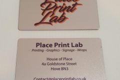 Place Print Lab - Aluminium Business Card