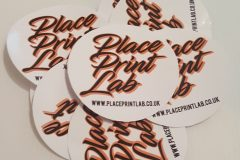 Place Print Lab - Die Cut Circular Sticker